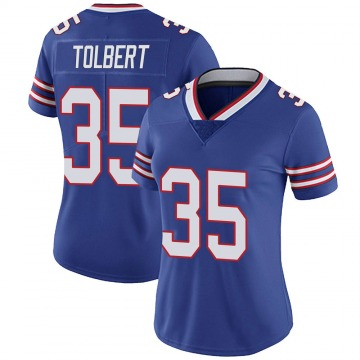 Women's Buffalo Bills Mike Tolbert Royal Limited Team Color Vapor Untouchable Jersey By Nike