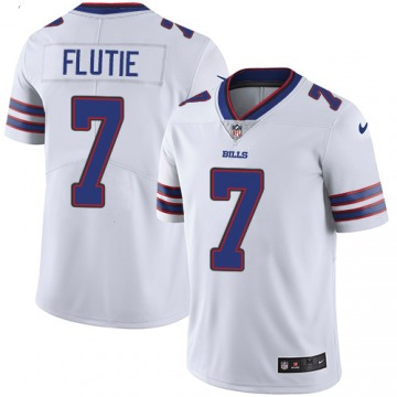 Youth Buffalo Bills Doug Flutie White Limited Jersey By Nike