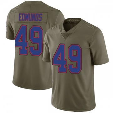 Youth Buffalo Bills Tremaine Edmunds Green Limited 2017 Salute to Service Jersey By Nike